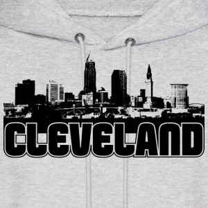 Cleveland Skyline Hooded Sweatshirt - Men's Hoodie