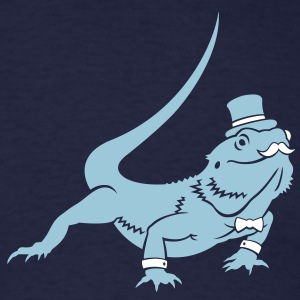 Sir Bearded Dragon - Men's T-Shirt