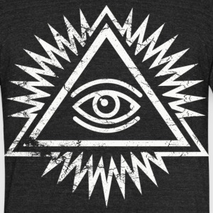 Eye of Providence - Unisex Tri-Blend T-Shirt by American Apparel