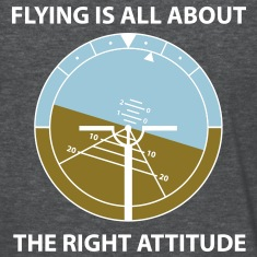 A flying attitude! Women's T-Shirts