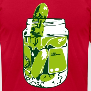 Pickles T-Shirts - Men's T-Shirt by American Apparel