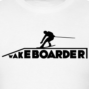 Wakeboarder/Wakeboard - Men's T-Shirt