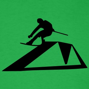 Wakeboarder/Kiteboard - Men's T-Shirt