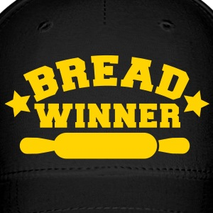 bread winner rolling pin Caps - Baseball Cap