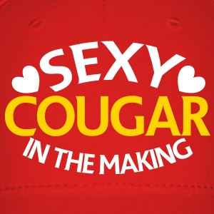 SEXY COUGAR in the making Caps - Baseball Cap