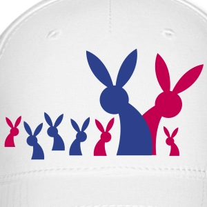 really big rabbit family Caps - Baseball Cap