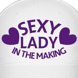 SEXY lady in the making Caps - Baseball Cap