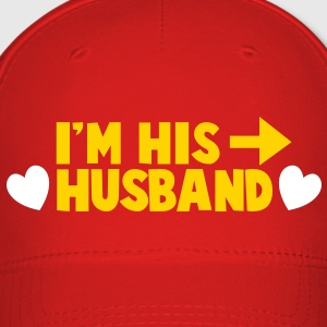 I'm his HUSBAND right arrow Caps - Baseball Cap