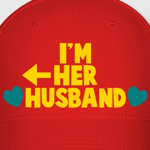 I'm her HUSBAND left arrow Caps - Baseball Cap