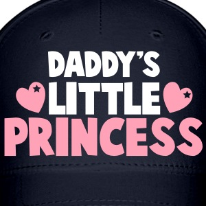 daddy's little princess with love hearts Caps - Baseball Cap