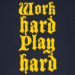 work hard play hard Caps - Baseball Cap