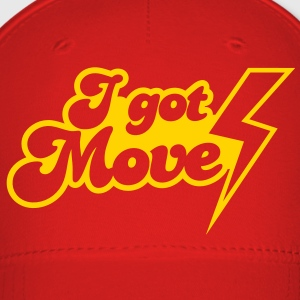 I GOT MOVES with lightning strike Caps - Baseball Cap
