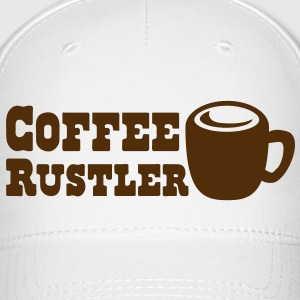 coffee mug rustler Caps - Baseball Cap