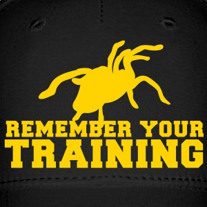 REMEMBER your training with a tarantula spider Caps - Baseball Cap