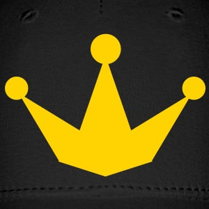new pointy princess prince crown Caps - Baseball Cap