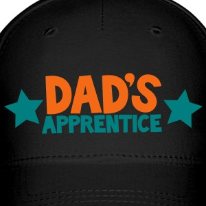 dad's apprentice with cute little stars working with daddy Caps - Baseball Cap