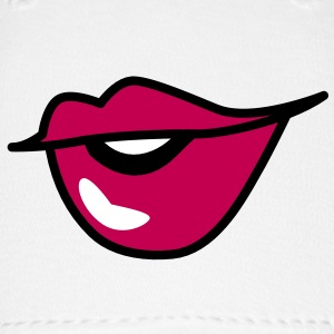 cute kissy pouty lips Caps - Baseball Cap