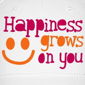 happiness grows on you Caps - Baseball Cap
