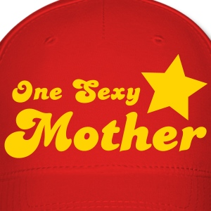 one sexy mother with a star  Caps - Baseball Cap