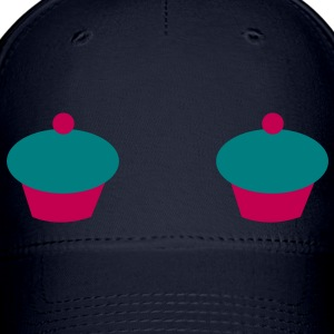 double cupcake nipples Caps - Baseball Cap