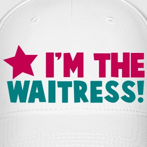 I'm the WAITRESS waiter lady with a star Caps - Baseball Cap