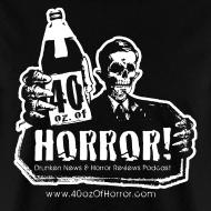 Design ~ T-Shirt - 40oz Of Horror Logo