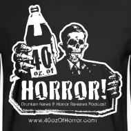 Design ~ Long Sleeve Shirt - 40oz Of Horror Podcast Logo