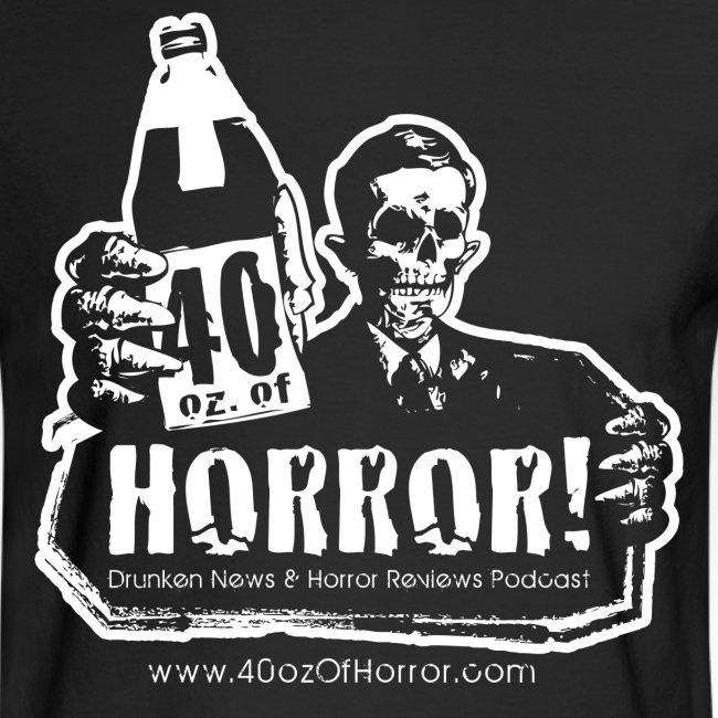 Long Sleeve Shirt - 40oz Of Horror Podcast Logo