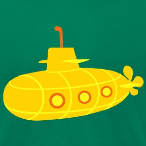 Submarine T-Shirts - Men's T-Shirt by American Apparel