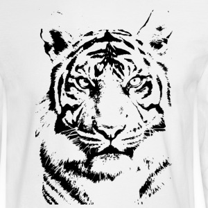 tiger Long Sleeve Shirts - Men's Long Sleeve T-Shirt