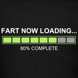 Fart Now Loading - Back Shirt - Men's T-Shirt