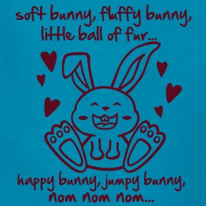 soft bunny, fluffy bunny, little ball of fur... Kids' Shirts - Kids' T-Shirt