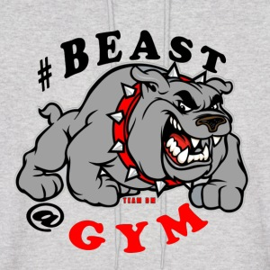 BEAST AT THE GYM - Men's Hoodie