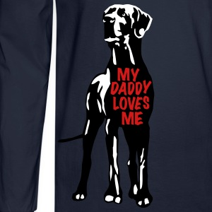Daddy loves Me  Long Sleeve Shirts - Men's Long Sleeve T-Shirt