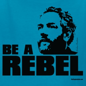 Breitbart - Be a Rebel - Orange - Kids' T-Shirt