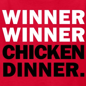 Winner Winner Chicken Dinner Kids' Shirts - Kids' T-Shirt