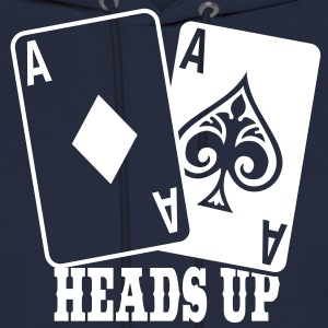 Poker - Heads Up Hoodies - Men's Hoodie