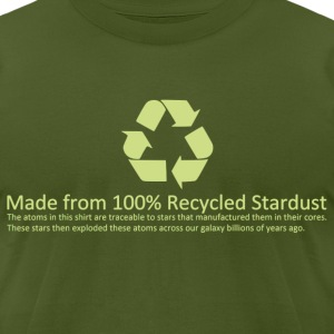 Recycled Stardust - Men's T-Shirt by American Apparel