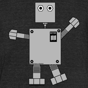 Robot T-Shirts - Unisex Tri-Blend T-Shirt by American Apparel