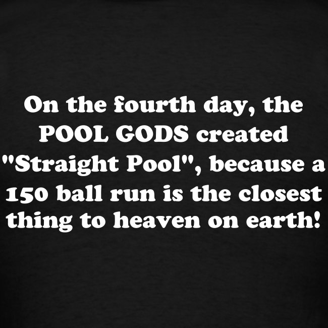 On the fourth day... T-shirt.