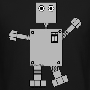 Robot Long Sleeve Shirts - Crewneck Sweatshirt