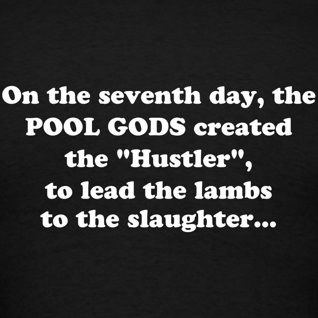 On the seventh day... T-shirt.