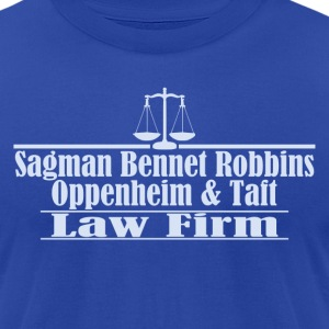 Sagman, Bennet, Robbins, Oppenheim and Taft - Men's T-Shirt by American Apparel