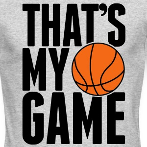 basketball - that's my game Long Sleeve Shirts - Men's Long Sleeve T-Shirt by Next Level
