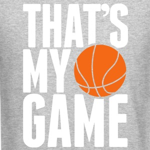 basketball - that's my game Long Sleeve Shirts - Crewneck Sweatshirt