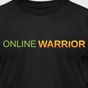 Online Warrior - Men's T-Shirt by American Apparel