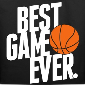 basketball - best game ever Bags  - Eco-Friendly Cotton Tote