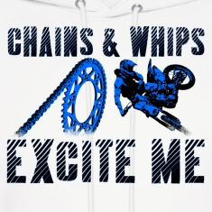 Chains and Whips Motocross Hoodie (Lights)