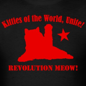 Kitties of the World, Unite! - Men's T-Shirt