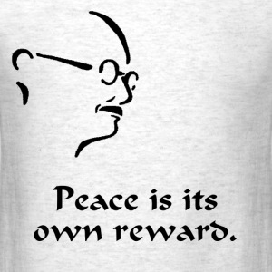 Gandhi – Peace - Men's T-Shirt